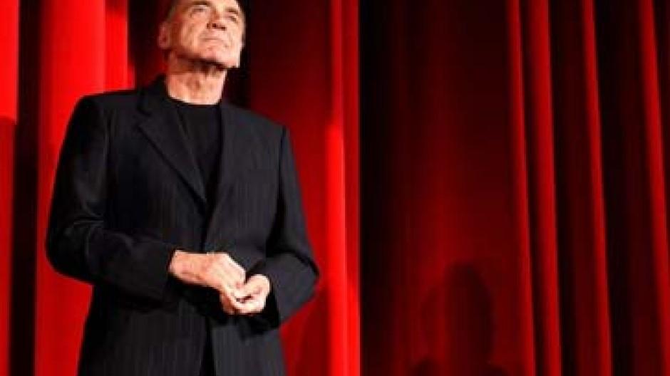 Hauptdarsteller Bruno Ganz bei der Premiere des Films in Zürich
