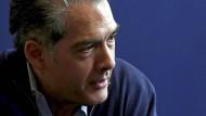 Philip Kerr bei einem Interview in Barcelona
