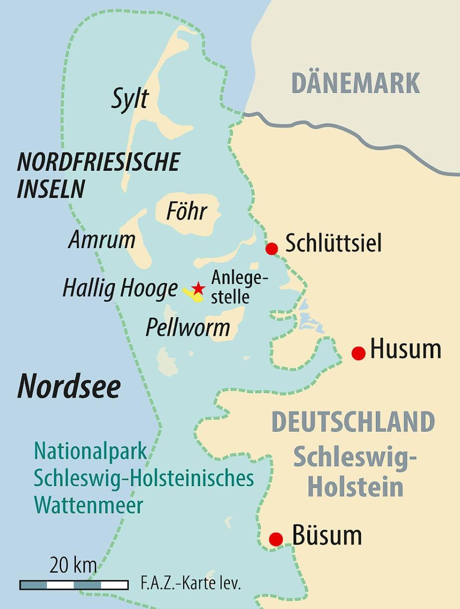 Nordfriesische Inseln Karte.Bilderstrecke Zu Auf Hallig Hooge Die Inspiration Fur Emil