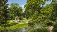Kurze Wege für den langen Atem der Geistesgeschichte: Im Musentempel im Park von Tiefurt huldigte man antiken Idealen und dem Geist der Aufklärung.