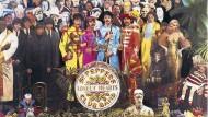 """Auch in der Mono-Box: Mit dem Beatles-Album """"Sgt. Pepper's"""" landete 1967 die Konzeptkunst in der Popmusik."""