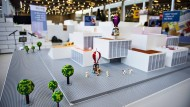 Lego-Modell für ein Projekt in Kopenhagen