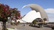 Was schlüpft denn da? Das Auditorio de Tenerife, entworfen von Santiago Calatrava, wurde im September 2003 in Santa Cruz eröffnet.