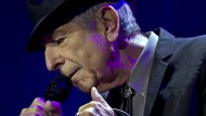 Leonard Cohen im September 2013 in Rotterdam