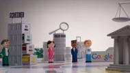 Niedlich: In einem kleinen Trickfilm erklärt Google, wie die behördlichen Auskunftsersuchen im Konzern behandelt werden