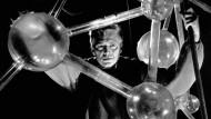 Die Struktur im Adlerblick: Will Quadflieg als Faust in der Inszenierung von Gustaf Gründgens