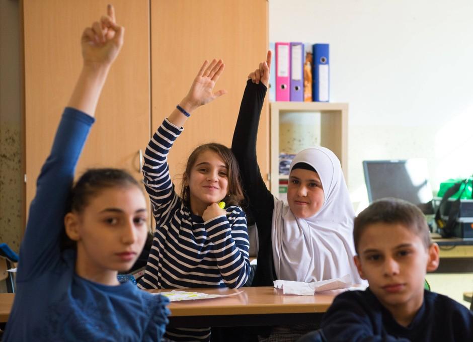 Mehr als 80 Prozent der Kinder in den Schulen Duisburg-Marxlohs haben einen Migrationshintergrund.