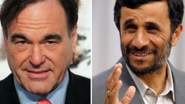 Ahmadineschad gibt Oliver Stone einen Korb