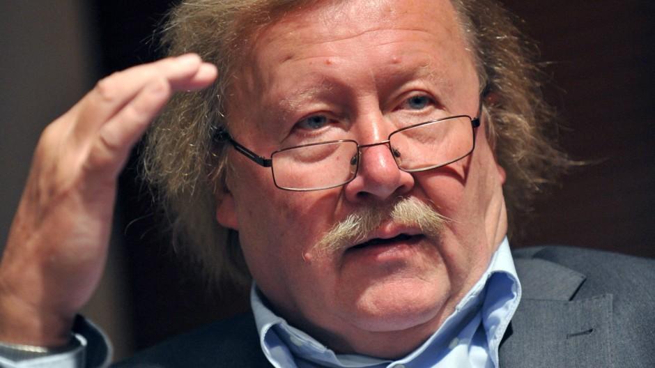 Seine Themen sind die der Gegenwart: Der Philosoph Peter Sloterdijk.