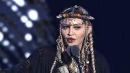 Madonna im August 2018 bei den MTV Video Music Awards in New York