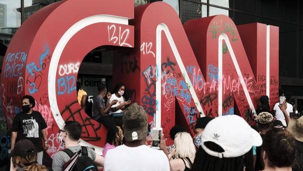 """""""CNN ist nicht attackiert worden, weil die Leute uns hassen"""""""