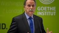 Steht sein Geschäftsmodell in Frage? Klaus-Dieter Lehmann, Präsident des Goethe-Instituts, Mitte Dezember in Berlin.