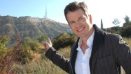 Markus Lanz zeigt originellerweise auf die Hollywood-Hügel