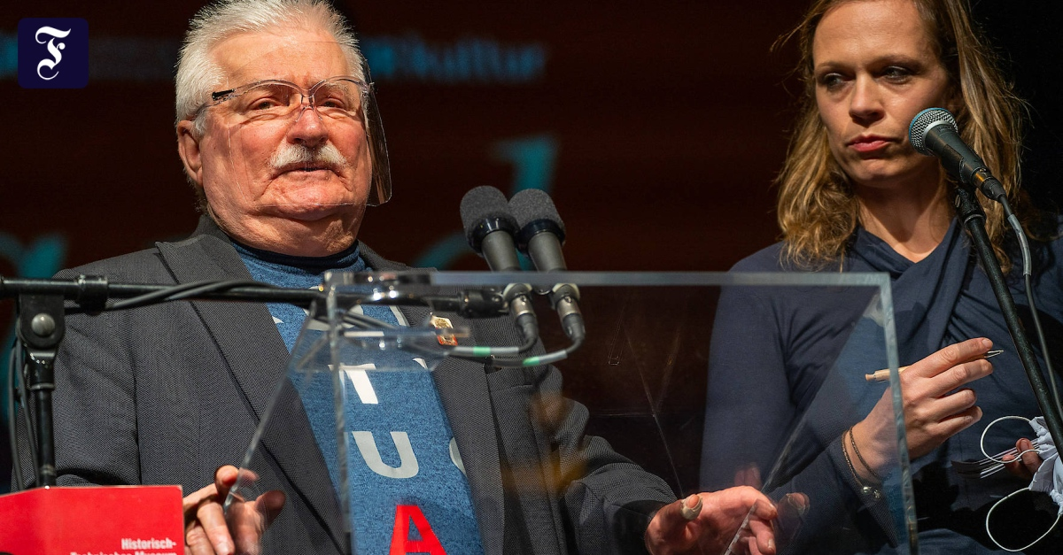 Lech Wałęsa über Europa: Jetzt seid Ihr Deutschen an der Reihe