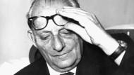 Der österreichische Schriftsteller und Philosoph Max Brod am 27. Juni 1964 in Prag.