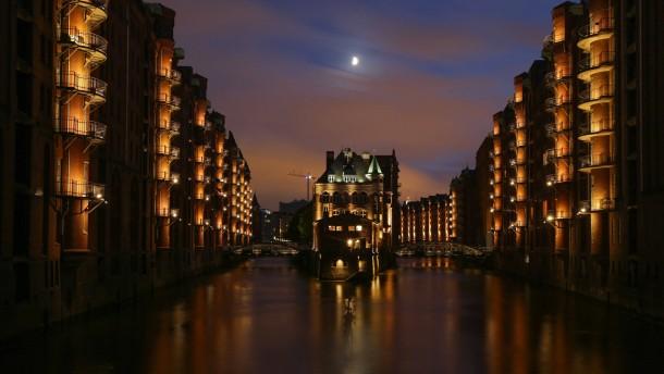 Hamburgs Speicherstadt ist Weltkulturerbe