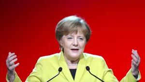 Merkels neue Kleider