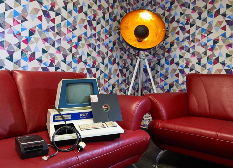 Was stellt man aus, wenn man digitale Kultur zeigen will? Vielleicht einen Commodore PET 2001 von 1977