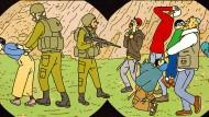 """Israelisches Spiegelbild in jeder Hinsicht: Rutu Modans Comic """"Tunnel"""""""