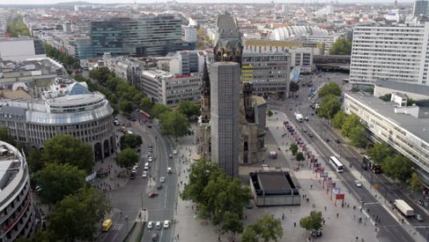Ausblick über Berlin genießen