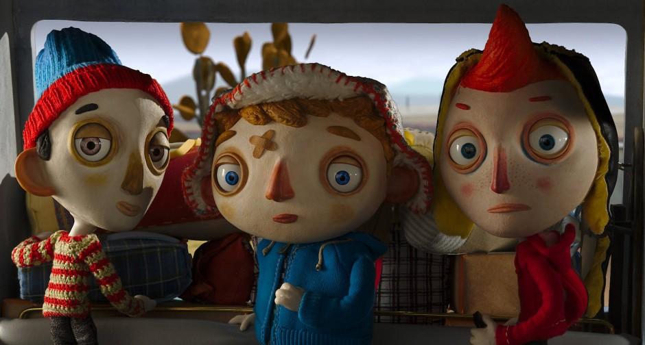 Die Protagonisten haben nur einen Gesichtsausdruck: denjenigen, den man ihren Puppen eben gegeben hat. Die großen Augen immerhin sind beweglich.