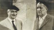 Martin und Fritz Heidegger im Jahre 1961