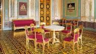Das Appartement der Königin in der Residenz