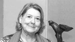 Monika Schoeller ist gestorben