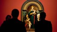 """Die """"Madonna des Bürgermeisters Jacob Meyer zum Hasen"""", auch bekannt als """"Schutzmantelmadonna"""""""