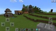 Kindliche Konstruktionen in virtueller Welt: In Minecraft geht es um Bauarbeiten, Errungenschaften – und gegen Gegner.