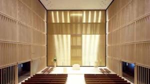 Kirchenneubauten üben Askese