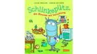 """Susan Kreller: """"Schlinkepütz, das Monster mit Verspätung"""". Illustriert von Sabine Büchner. Carlsen Verlag, Hamburg 2016. 80 S., geb., 14,99 €. Ab 5 J."""