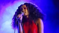 Lässt sich von den lauten Hip-Hop-Männern nicht aus der Ruhe bringen: Solange Knowles.