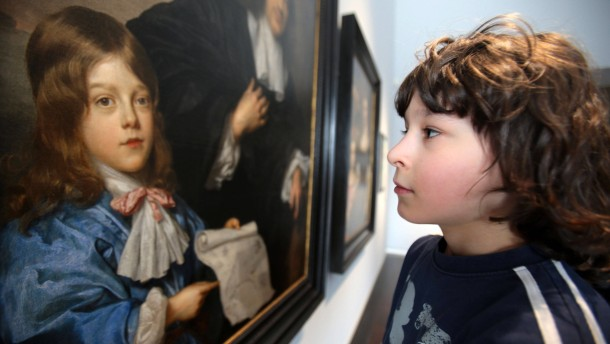 Schüler in die Kunstausstellung!