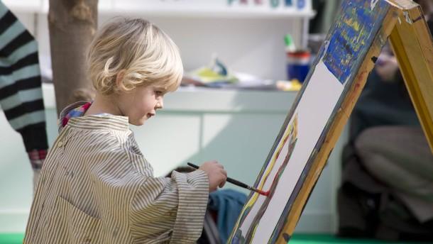 Warum können Kinder so toll malen?