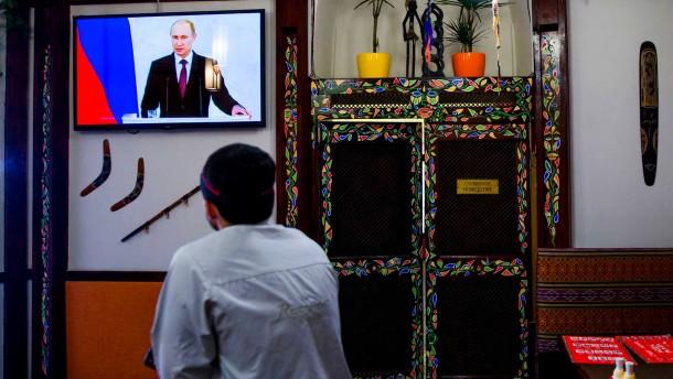 Putins große Rede