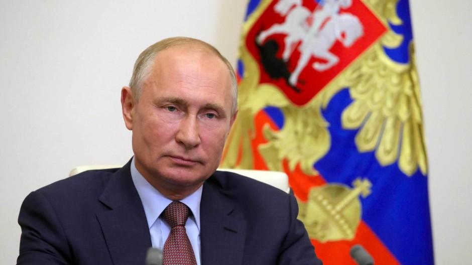 Seine historische Polemik richtet sich vor allem gegen Polen: der russische Präsident Wladimir Putin