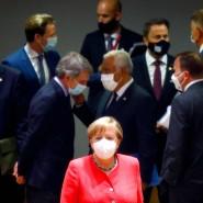 Vor einem Rundtischgespräch beim EU-Gipfel am 17. Juli in Brüssel