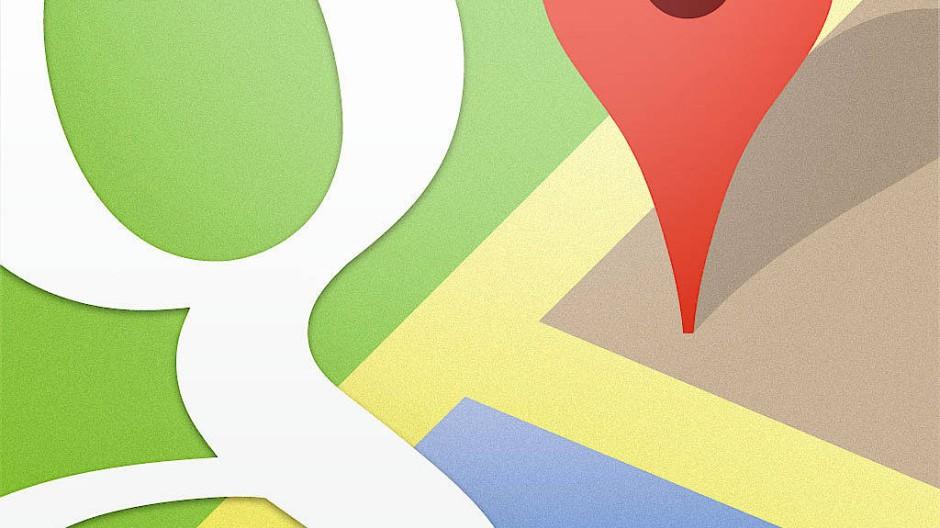 Bitte essen Sie hier: Google Maps empfiehlt und wirbt.