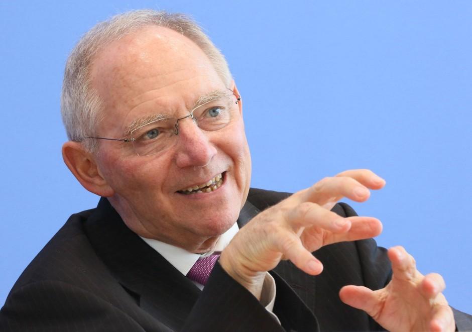 """Bundesfinanzminister Wolfgang Schäuble: """"Das so wichtige Vertrauen in Europa ist spürbar zurückgekehrt."""""""