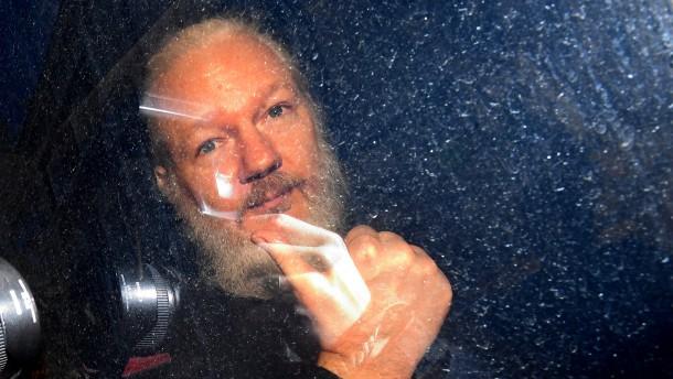 Lauschangriff auf Assange und seinen Besuch