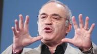 Hat keine Angst vor den Maschinen, sondern vor den Menschen, die sie kontrollieren: der ehemalige Schachweltmeister Garri Kasparow.