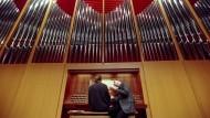 Und wenn die Studenten aus dem Ausland nicht mehr anreisen dürfen? Orgel im Großen Konzertsaal der Musikhochschule Leipzig.