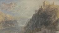 Wenn die Konturen der Welt verschwimmen: In einer Serie von Gemälden folgte William Turner im frühen neunzehnten Jahrhundert dem Rhein