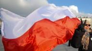 Polen demonstrieren gegen die Regierung. Auch sie sagen: Wir sind das Volk.