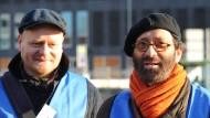 Piratenchef Bernd Schlömer und der niedersächsische Spitzenkandidat Meinhart Ramaswamy