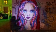 Wenigstens die Graffiti sind garantiert Einheimische: Street-Art-Künstler in Berlin-Mitte