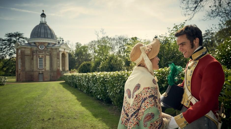 Sie wären so ein schönes Paar geworden: Sophia Trenchard (Emily Reid) und Lord Edmund Bellasis (Jeremy Neumark Jones) vor der Schlacht von Waterloo.