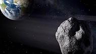 Illustration des Asteroiden 2012 DA14, der 2013 an der Erde vorbei flog