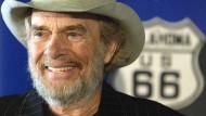 Country-Musiker Merle Haggard auf einem Archivfoto von 2003